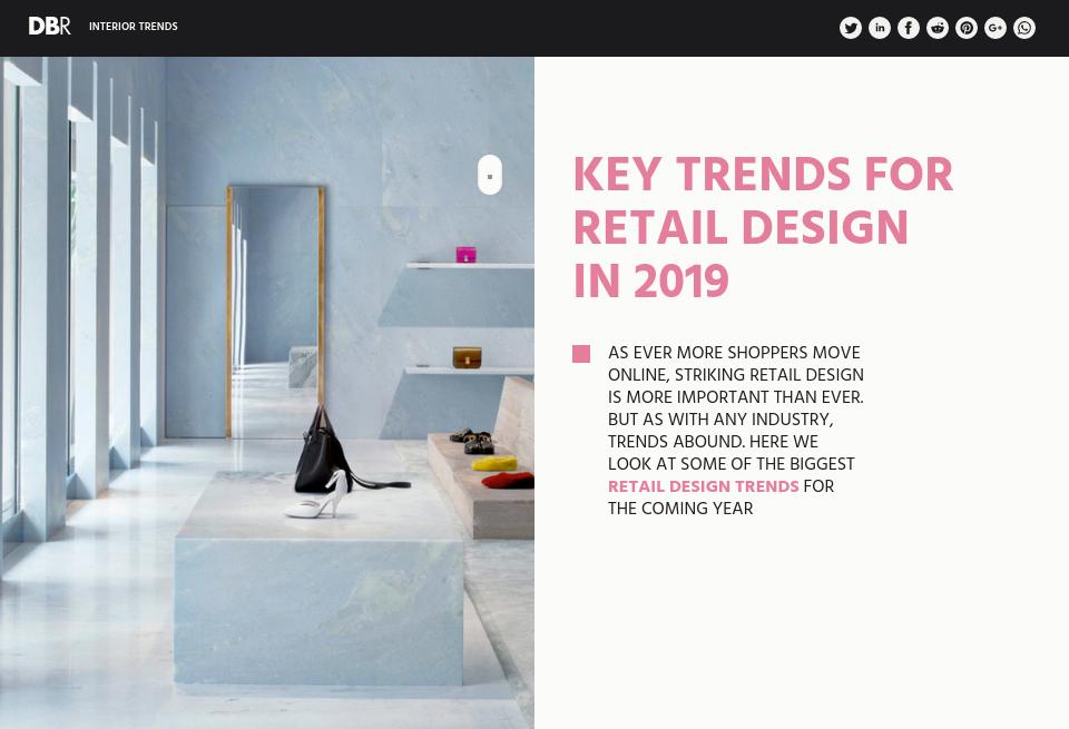 key trends for retail design in 2019   design amp build